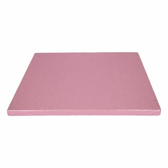 FunCakes Cake Drum Quadratisch 30,5cm Pink