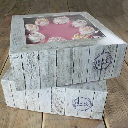 FunCakes Cake Box -Pure- 32x32cm pk/2