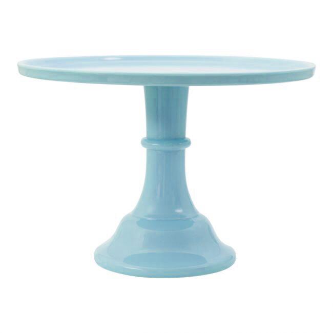 ALLC Kuchenständer groß Blau