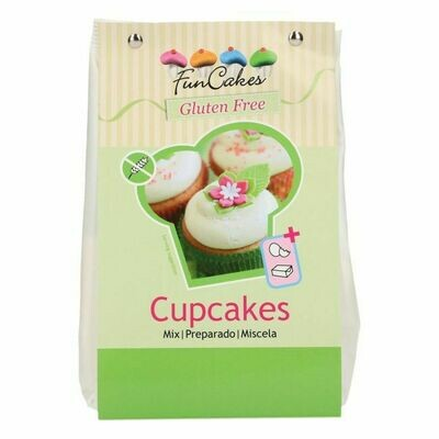 FunCakes Mix für Cupcakes, Glutenfrei 500g