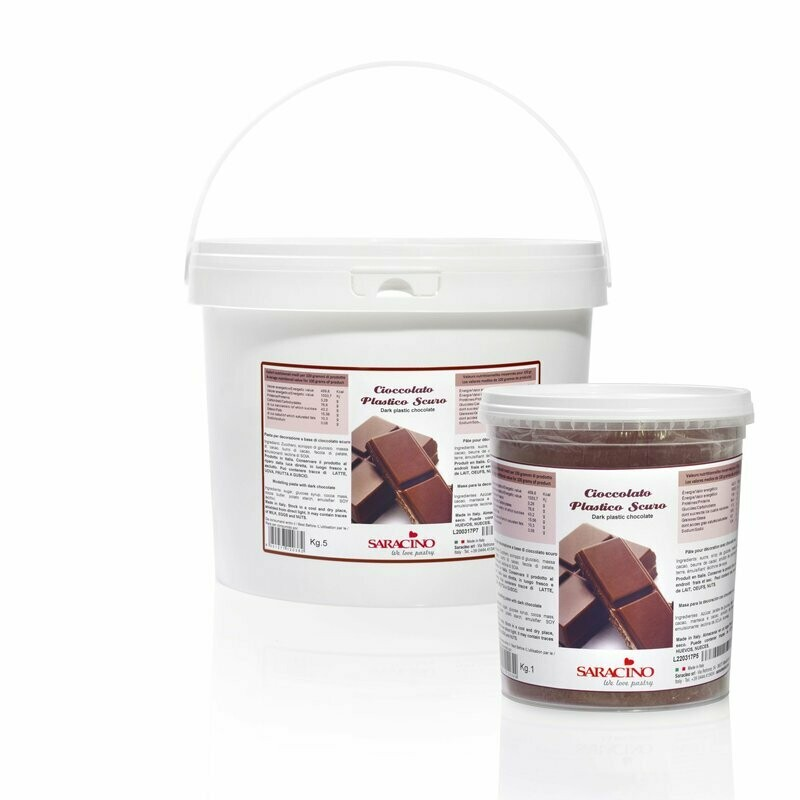 Chocolate Modelling Paste Dark 5 Kg