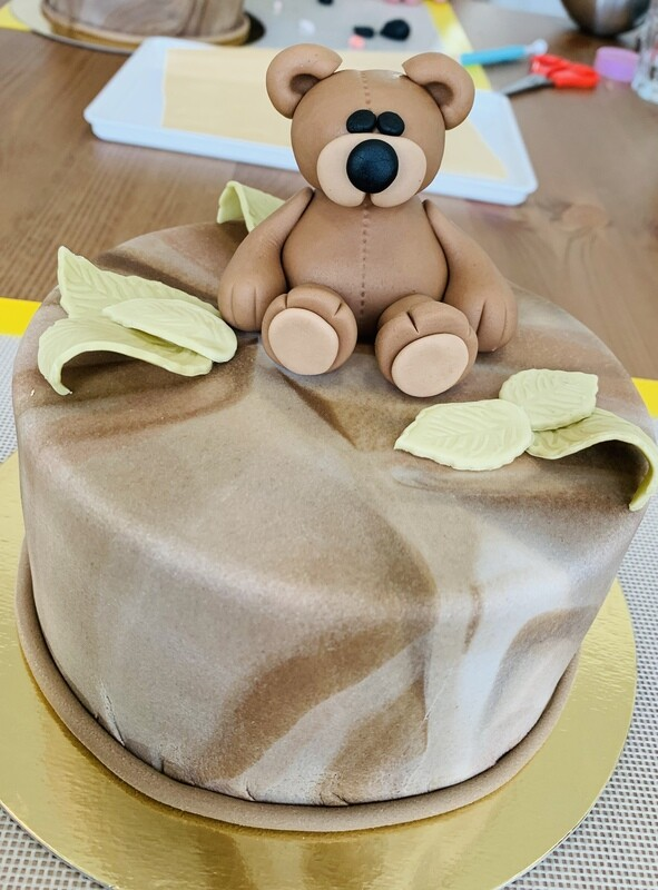 Motivtorten-Workshop Teddybär Make-Your-Cake!