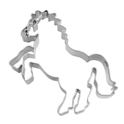 Städter Präge-Ausstecher Steigendes Pferd - 8 cm
