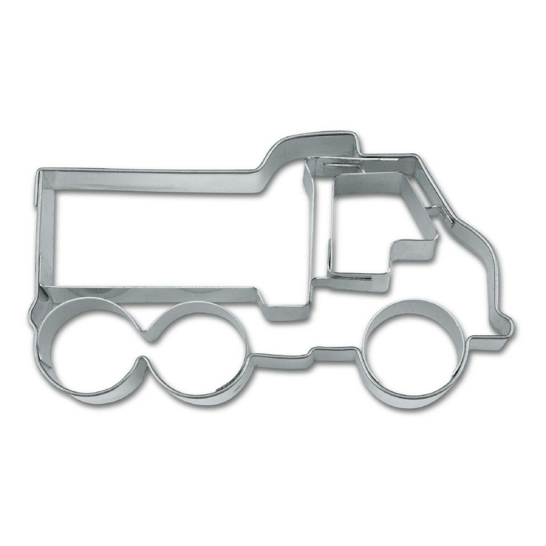 Städter Präge-Ausstecher Laster / LKW - 8 cm