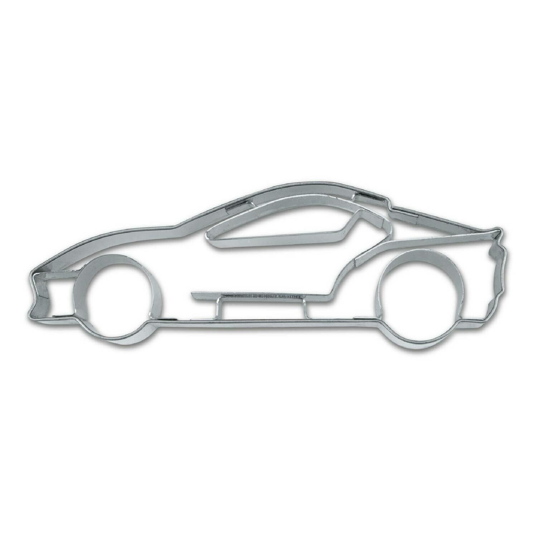 Städter Präge-Ausstecher Sportwagen - 9 cm