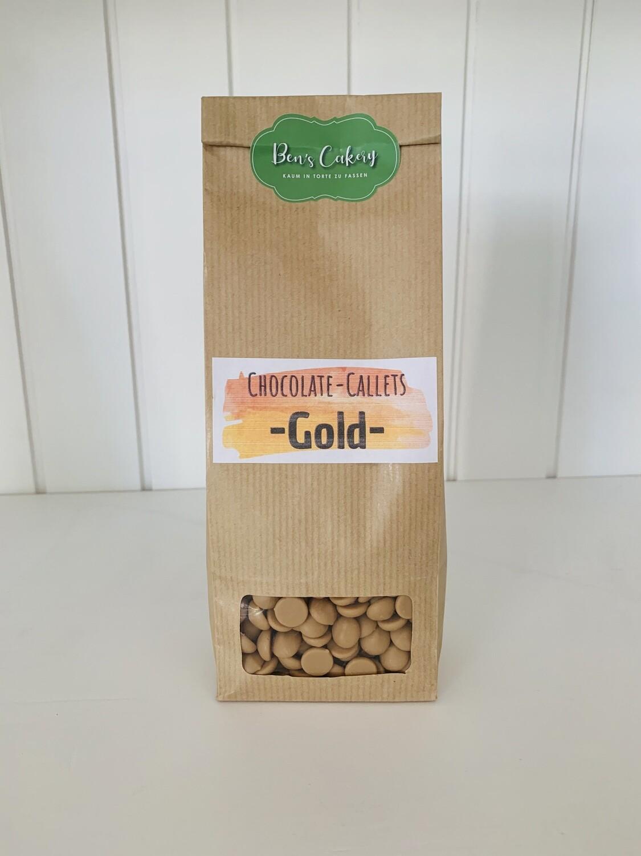 Callebaut Schokoladen-Callets Gold - 250g
