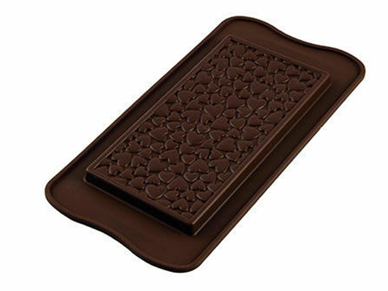 Silikomart Silikonform Tafel Love Choco Bar
