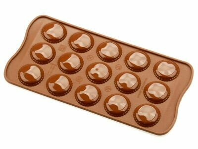 Silikomart Silikon-Pralinenform Macaron