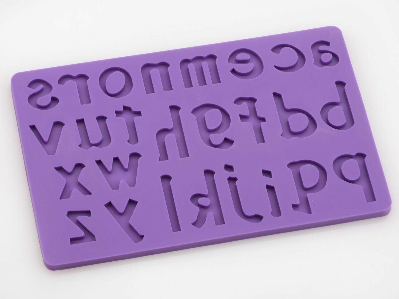 Cake-Masters Flexform Buchstaben klein a-z