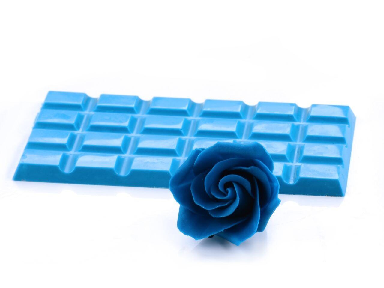 Pati-Versand Modellier-Schokolade Blau 600g