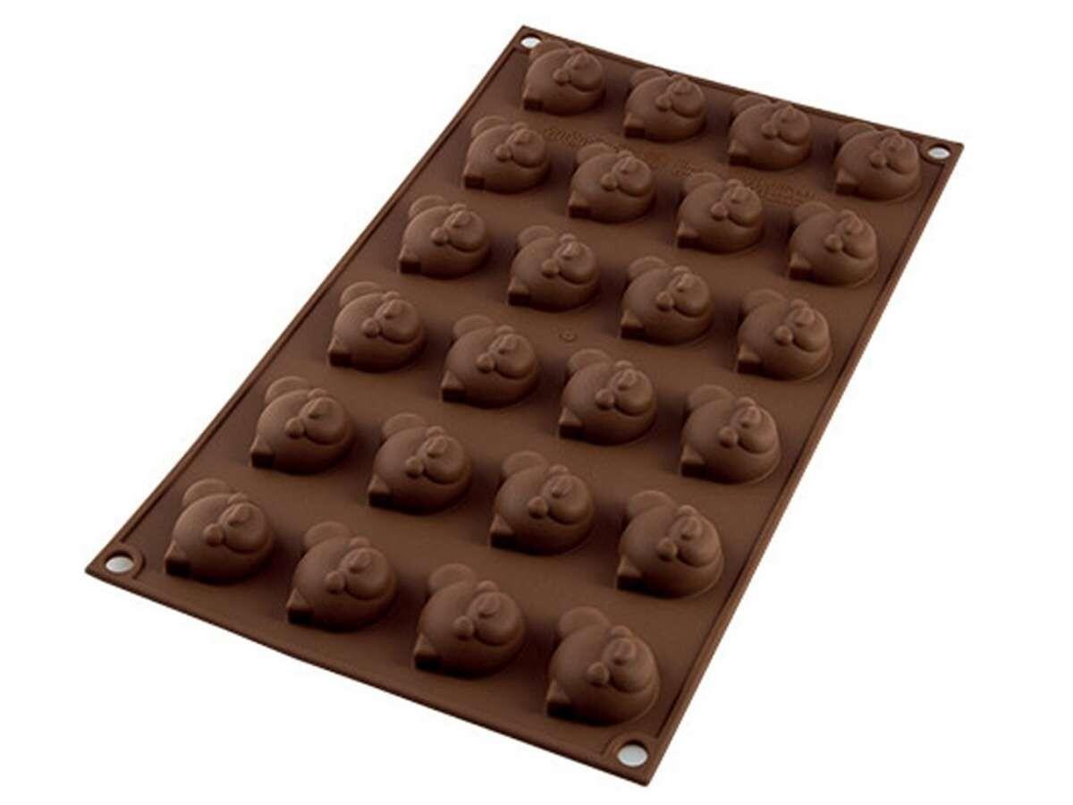 Silikomart Silikon-Pralinenform Choco Panda