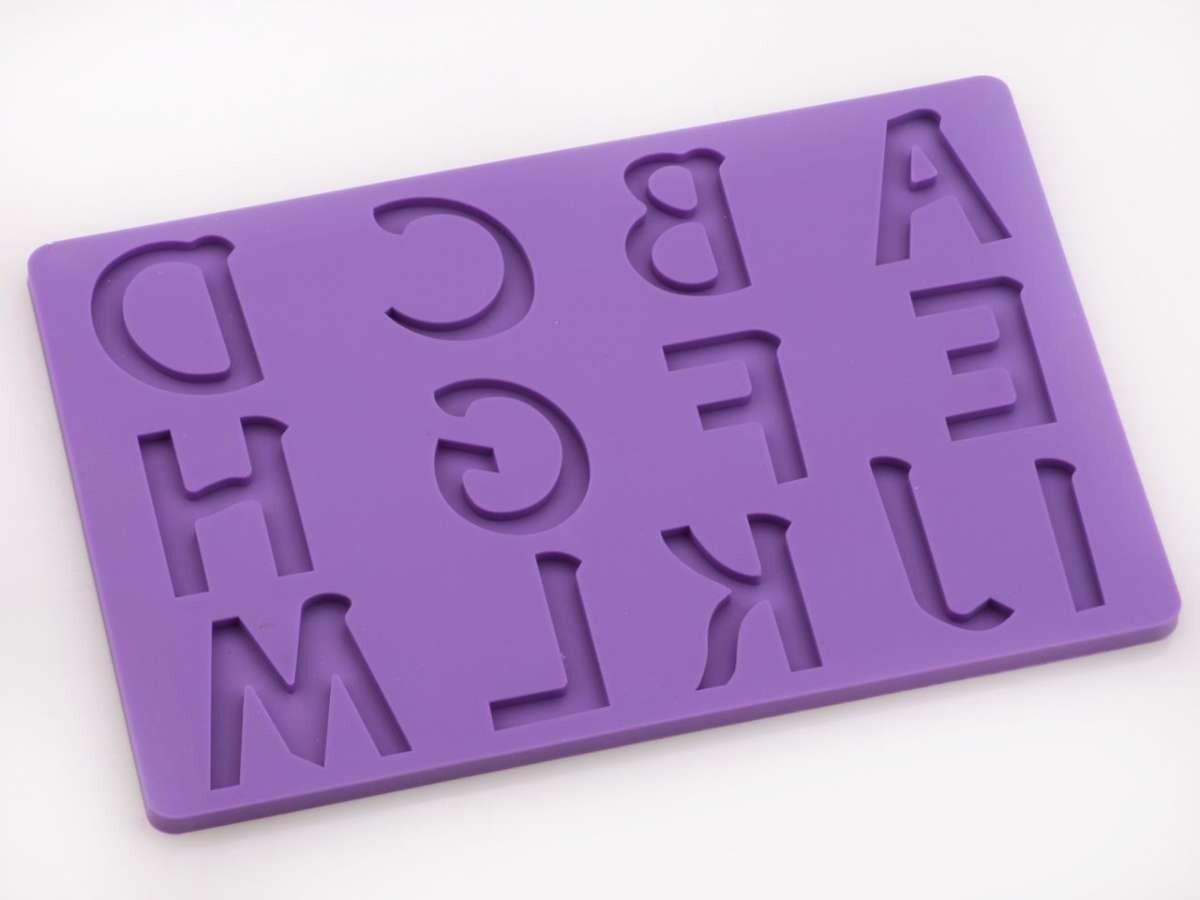 Cake-Masters Flexform Buchstaben groß A-M
