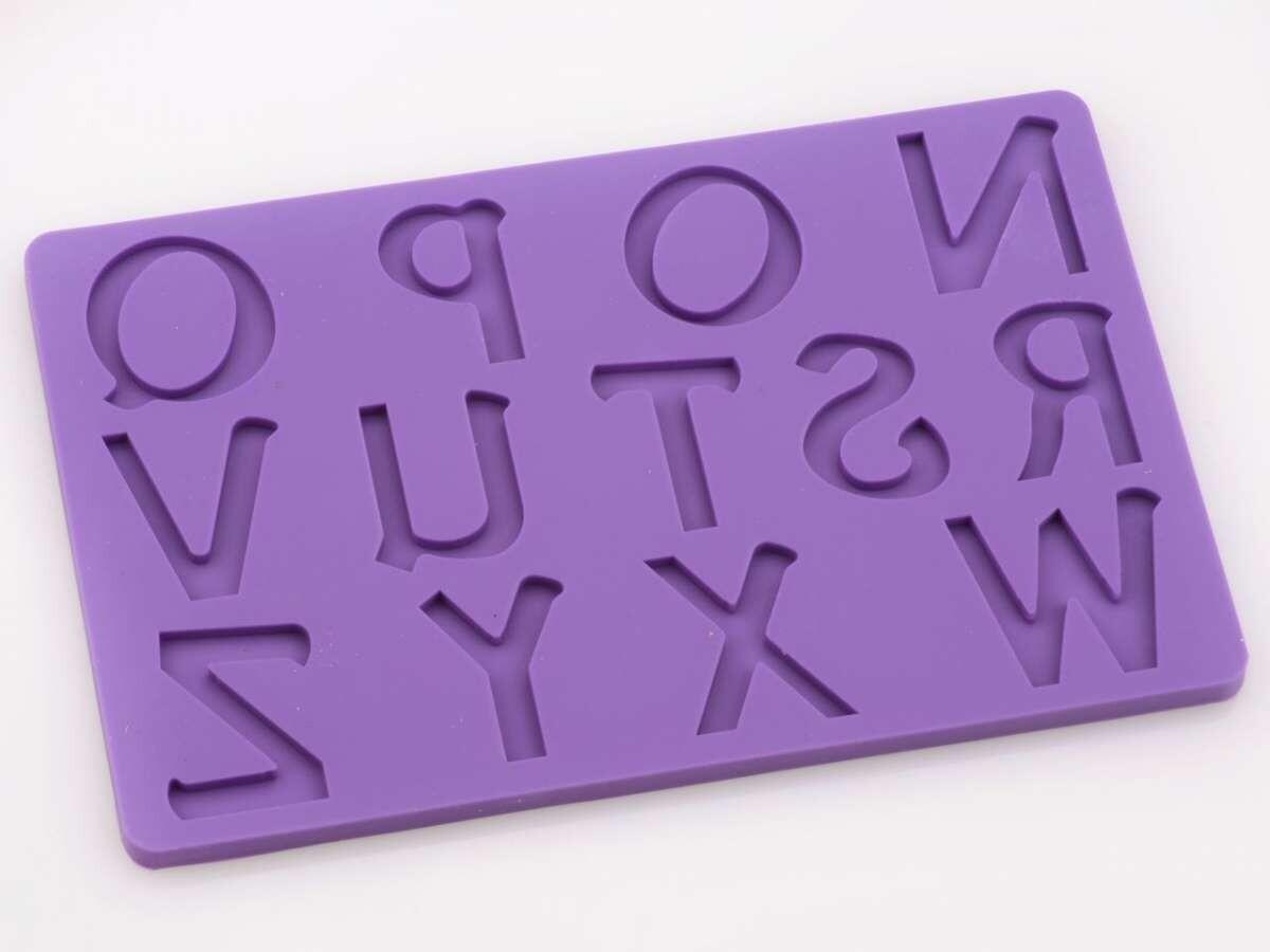Cake-Masters Flexform Buchstaben groß N-Z