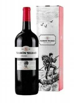 Ramón Bitbao Crianza Magnum in geschenkdoos