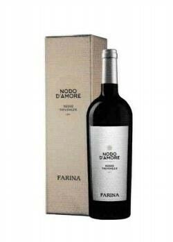 Farina Nodo d'Amore Rosso in geschenkdoos