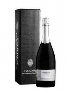 Farina Prosecco Spumante Extra Dry in geschenkdoos