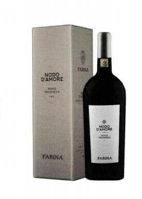 Farina Nodo d'Amore Rosso Magnum in geschenkdoos