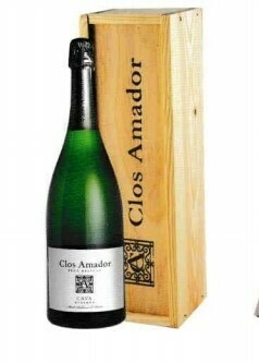 Clos Amador Brut Magnum in houten kist
