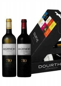 Dourthe Sauvignon Blanc en Rouge in geschenkdoos