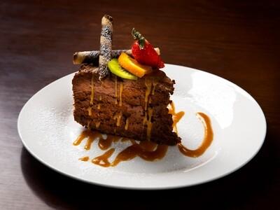 Chocolate Salted Caramel Mousse Cake (GF)