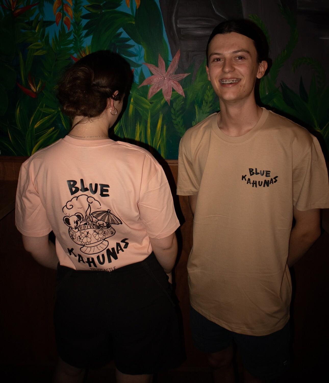 T-shirt Pale Blue Medium
