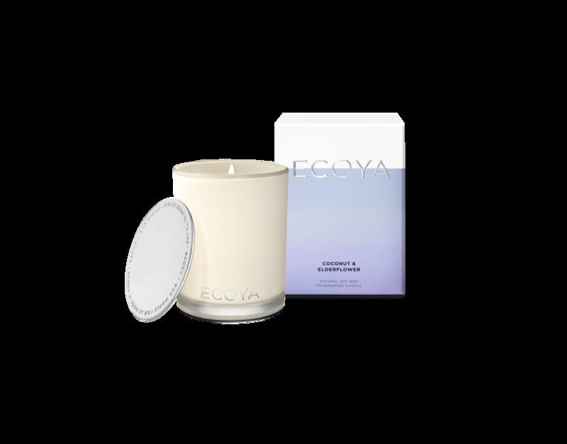 Ecoya Candle - Coconut & Elderflower