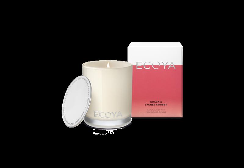Ecoya Mini CandleGuava & Lychee