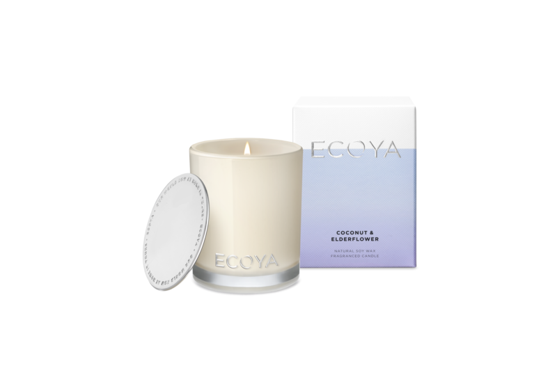 Ecoya Candle Mini - Coconut & Elderflower