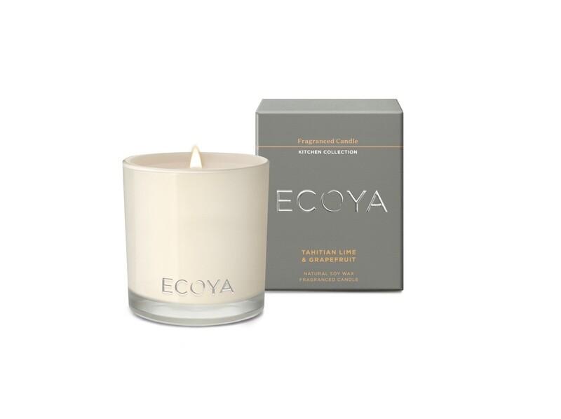 Ecoya Candle - Tahitian Lime & Grapefruit
