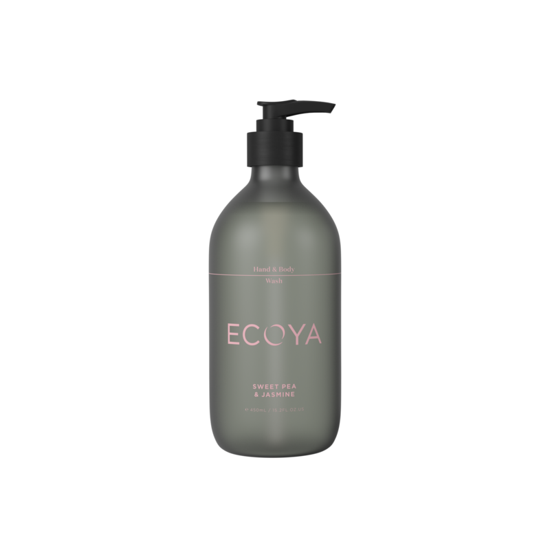 Ecoya Hand & Body Wash - Sweetpea & Jasmine