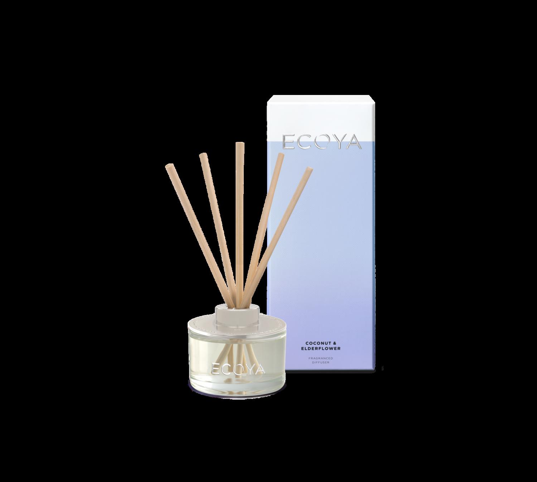 Ecoya Diffuser Mini - Coconut & Elderflower