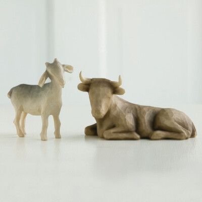 Ox and Goat