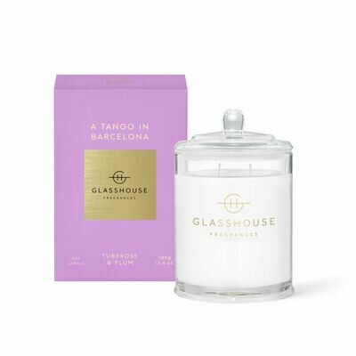 Glasshouse Candle - A Tango In Barcelona