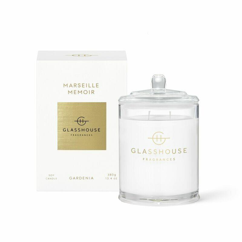Glasshouse Candle - Marseille Memoir