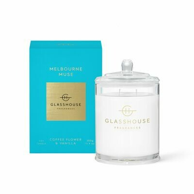 Glasshouse Candle - Melbourne Muse 380gm