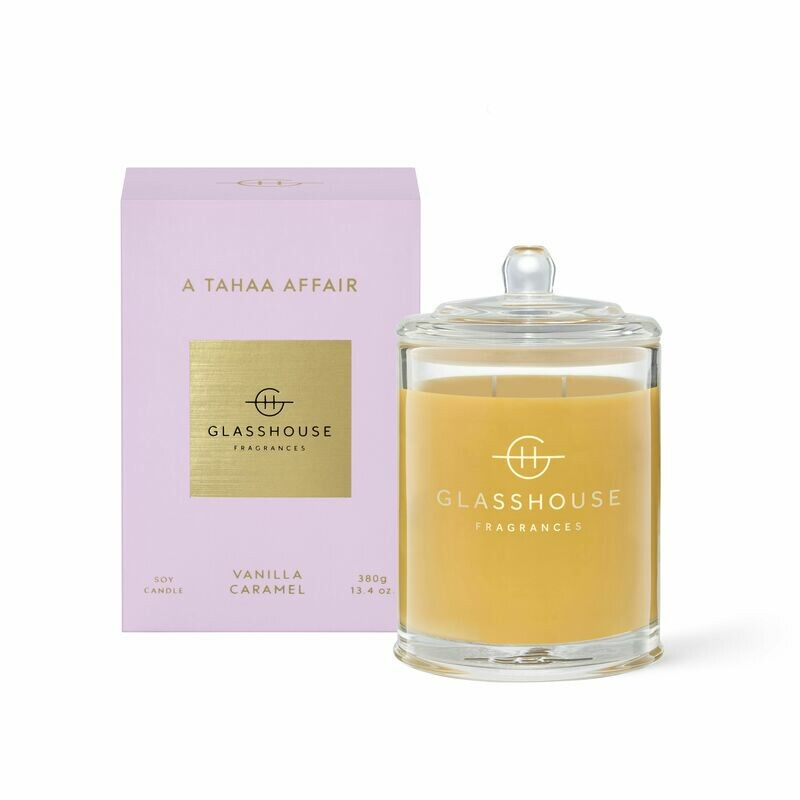 Glasshouse Candle - A Tahaa Affair