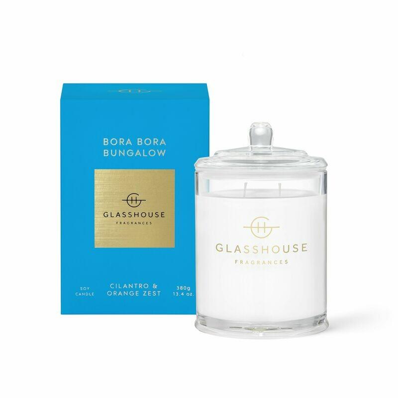 Glasshouse Candle - Bora Bora Bungalow 380gm