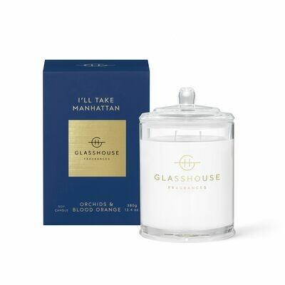 Glasshouse Candle - I'll Take Manhattan