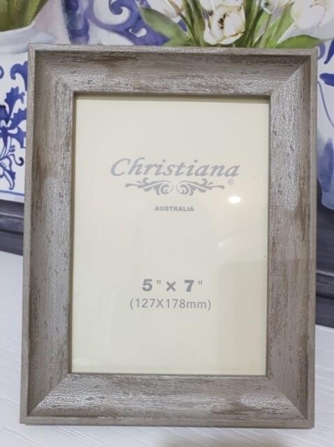 White Wooden Frame 5x7