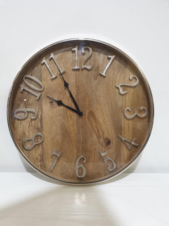 Clock-Mango Wood