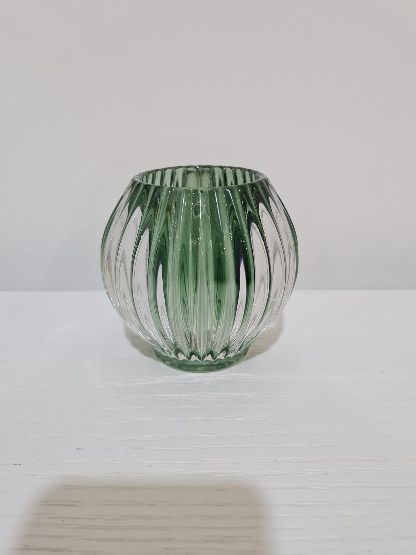Tealite-Round Emerald