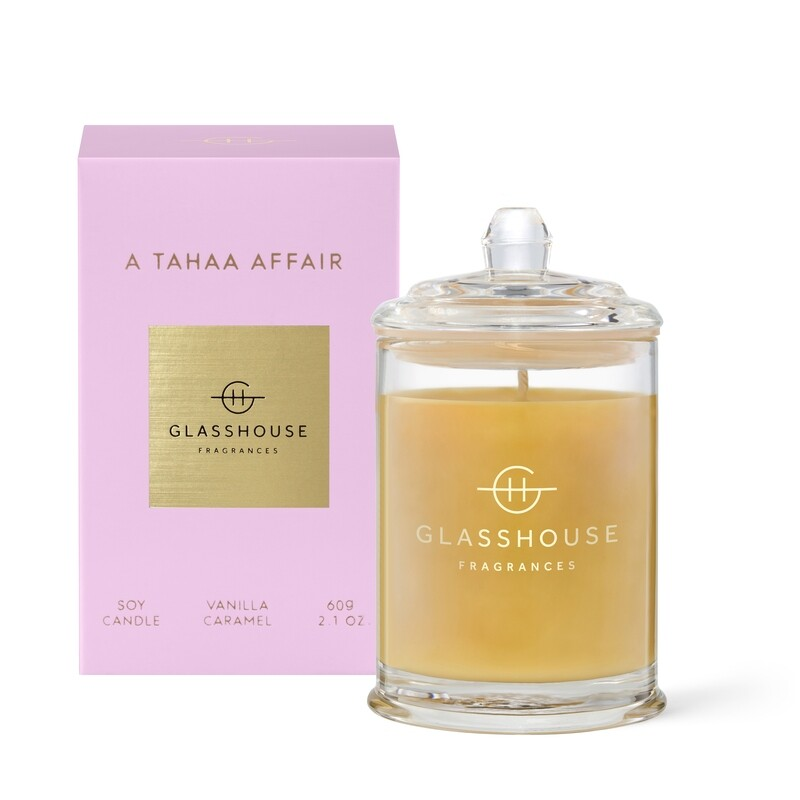 Glasshouse Candle- A Tahaa Affair 60gm