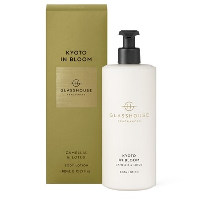 Glasshouse Body Lotion-Kyoto In Bloom 400ml
