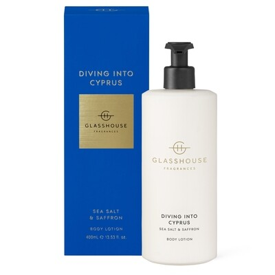 Glasshouse Body Lotion-Diving Into Cyprus 400ml
