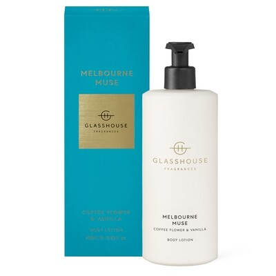 Glasshouse Body Lotion-Melbourne Muse 400ml