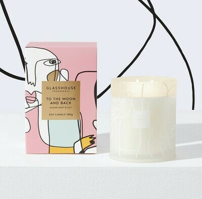 Glasshouse Candle-To The Moon and Back 380gm