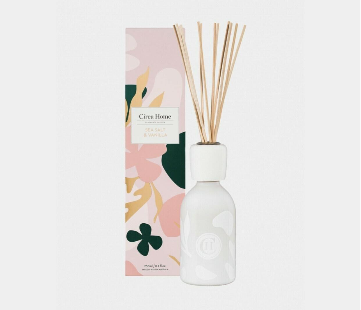 Circa Home Diffuser-Sea Salt & Vanilla 250ml