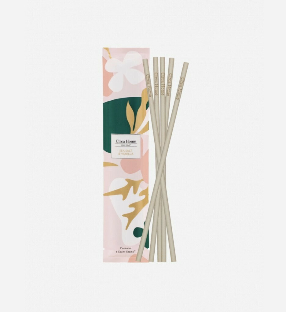 Circa Home Scent Stems-Sea Salt & Vanilla