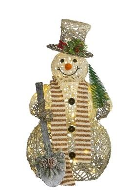 Wicker Snowman