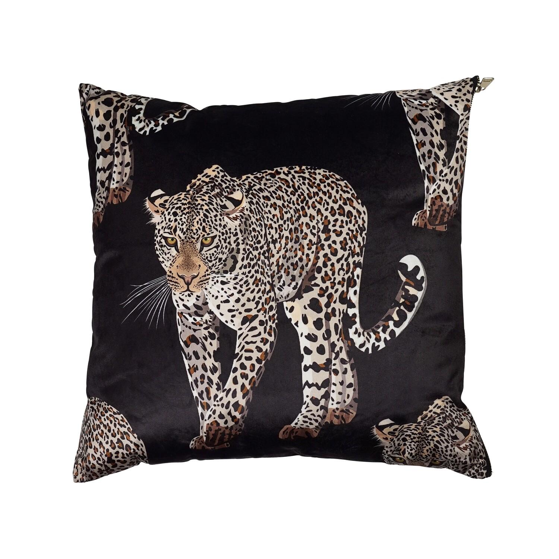 Miles Leopard Cushion